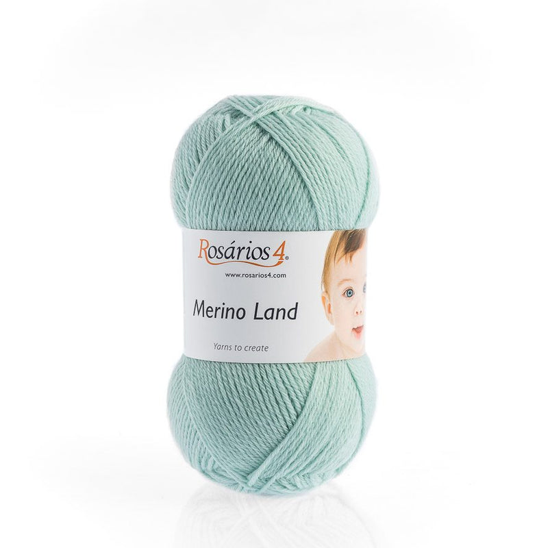 Rosarios4 MERINO LAND - 15 Green - Beautiful Knitters