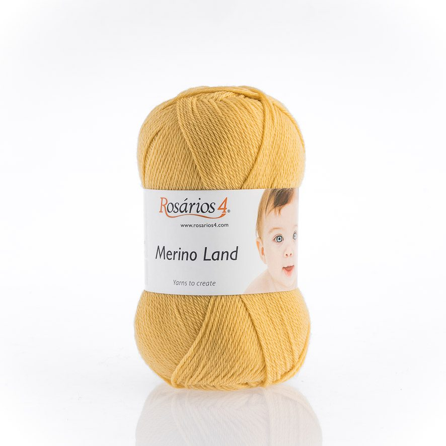 Rosarios4 MERINO LAND - 29 Yellow - Beautiful Knitters