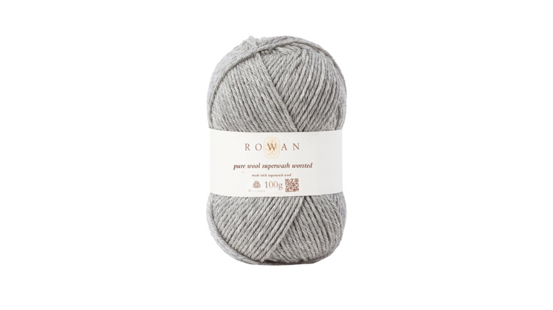 Rowan PURE WOOL SUPER-WASH WORSTED - 112 Moonstone - Beautiful Knitters