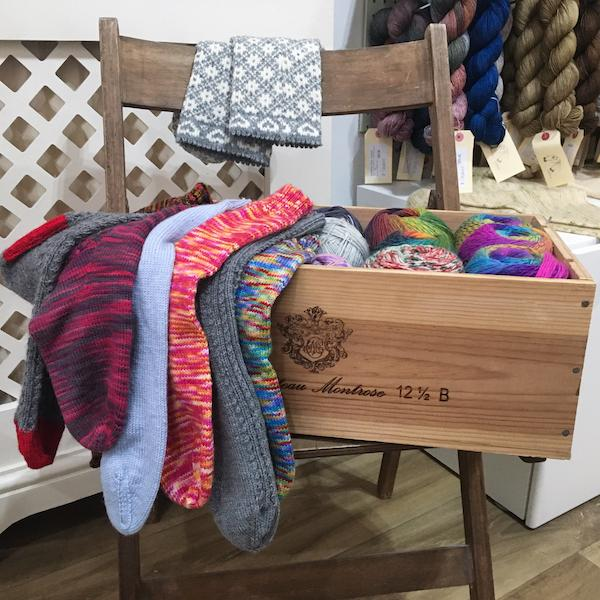 Beautiful Knitters Shop Workshop Socks