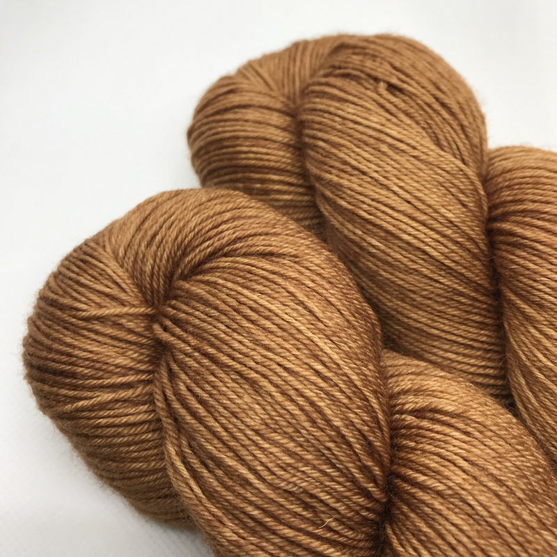 The Wool Barn HERITAGE BFL 4ply - Copper Penny - Beautiful Knitters