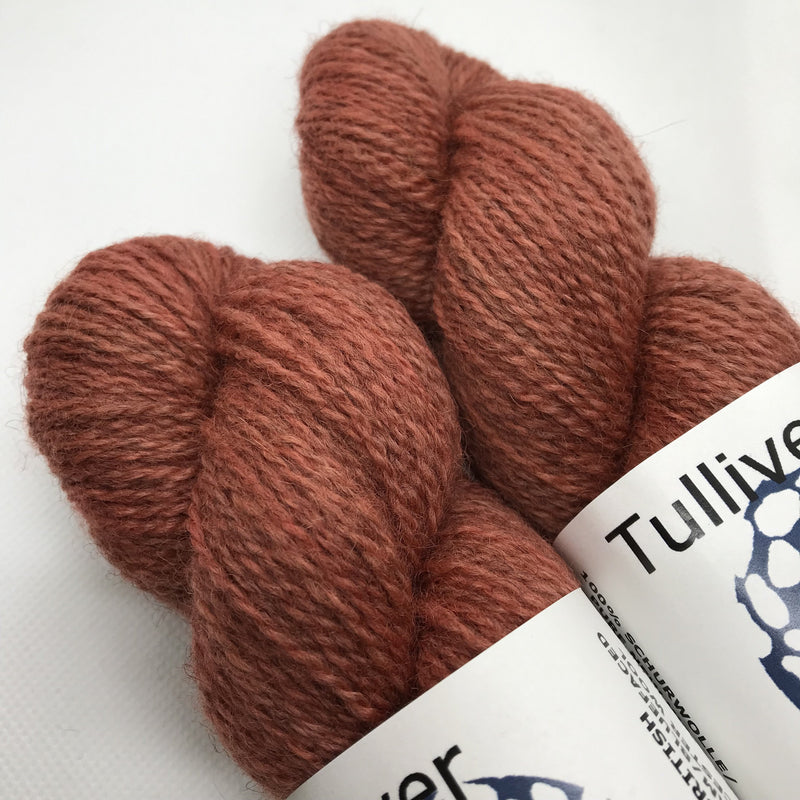 Tulliver MASHAM & BFL - Coral - Beautiful Knitters