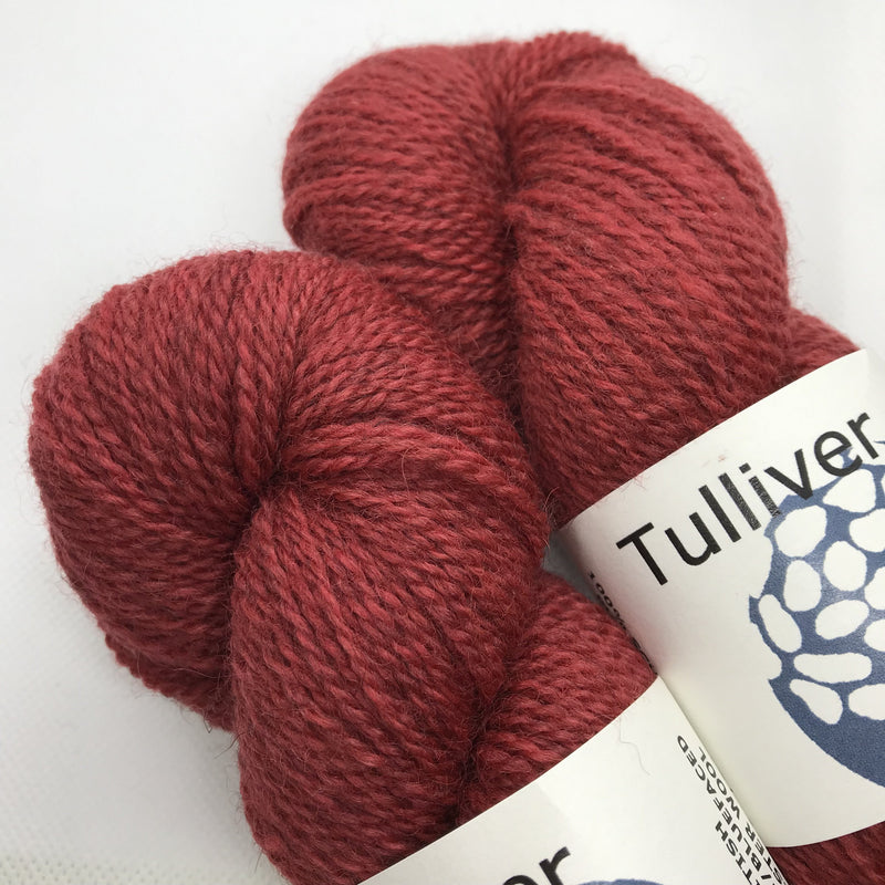 Tulliver MASHAM & BFL - Scarlet - Beautiful Knitters