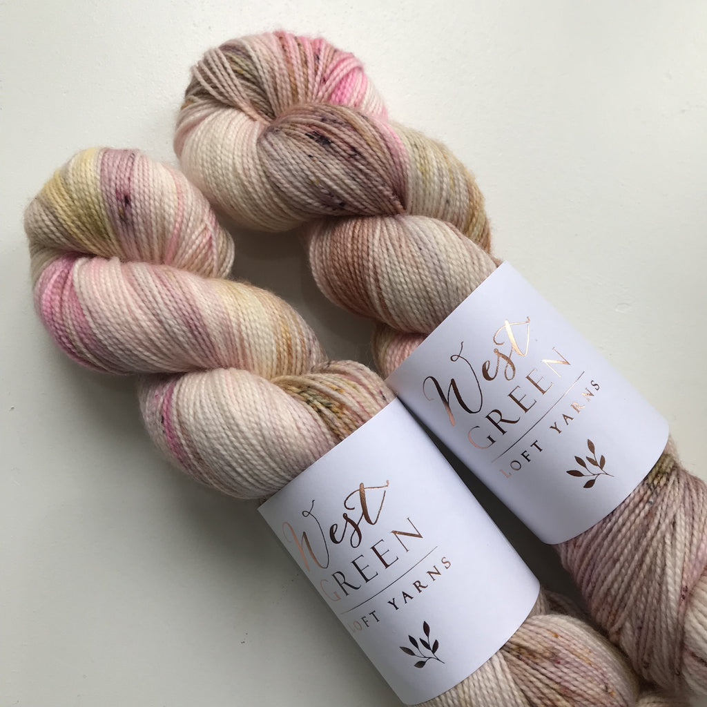 WGLY Twist Sock - Candied Rose - Beautiful Knitters