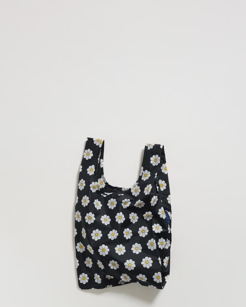 Baggu BABY REUSABLE BAG - Black Daisy - Beautiful Knitters