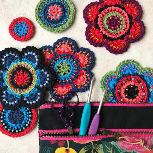 Beaded Crochet Workshop with Jane Crowfoot - Saturday 4 April - [variant_title] - Beautiful Knitters