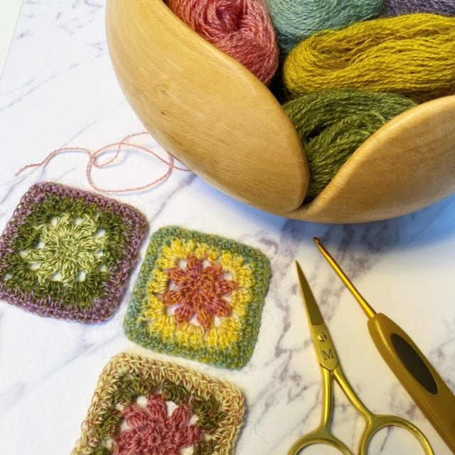 Beaded Crochet Workshop with Jane Crowfoot - Saturday 4 April