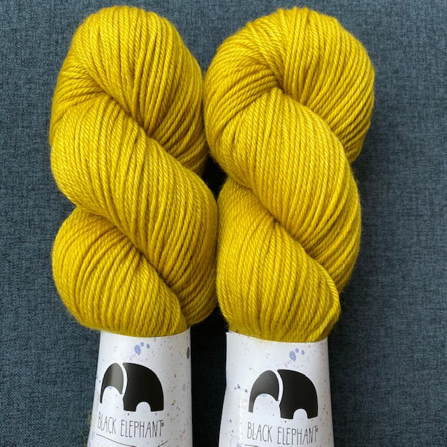 Black Elephant SPRINGY TWIST DK - Hello Yellow - Beautiful Knitters