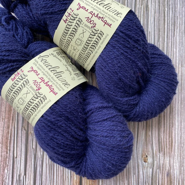 Bouclelaine MERINO ANGORA - Zone Aphotique - Beautiful Knitters