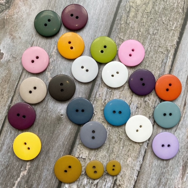 Hjertegarn BUTTON 13 mm