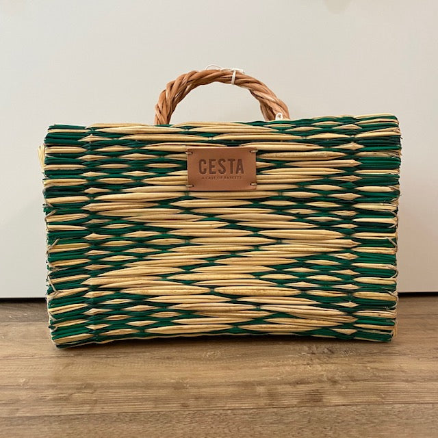 Cesta PEERIE MAKER Project Basket - Green - Beautiful Knitters