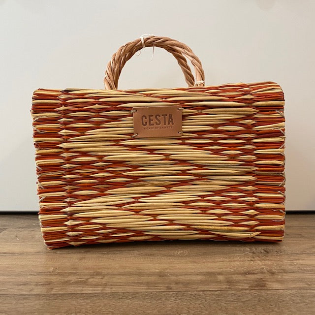 Cesta PEERIE MAKER Project Basket - Orange - Beautiful Knitters