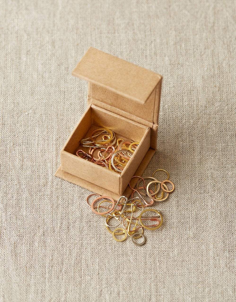 Cocoknits PRECIOUS METAL STITCH MARKERS - [variant_title] - Beautiful Knitters