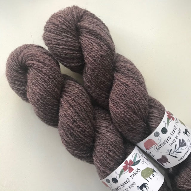 Gathered Sheep Yarns SHETLAND 4ply