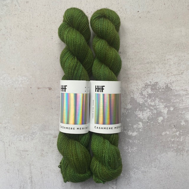 HHF CASHMERE MERINO - Swamp - Beautiful Knitters
