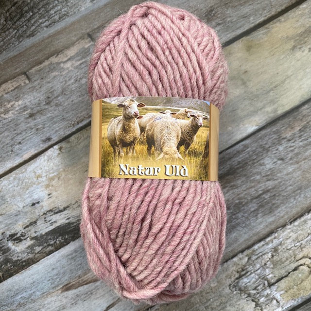 HjerteGarn NATUR ULD - 700 Dusty Pink - Beautiful Knitters