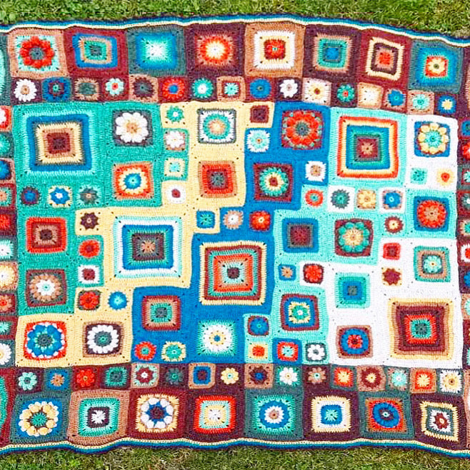 Homage to the Granny Square - Starts Wednesday 1 April - [variant_title] - Beautiful Knitters