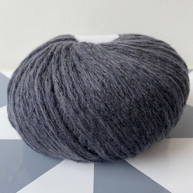 Knitting for Olive DOUBLE SOFT MERINO - Charcoal Gray - Beautiful Knitters