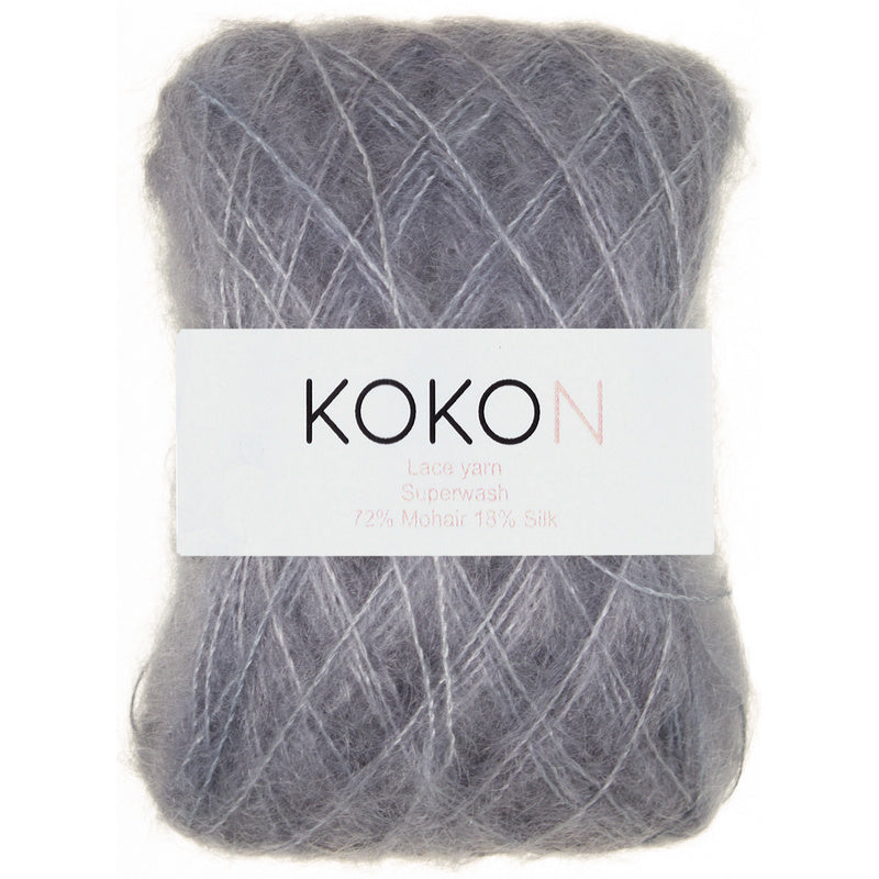 Kokon KIDSILK MOHAIR - Licorice - Beautiful Knitters