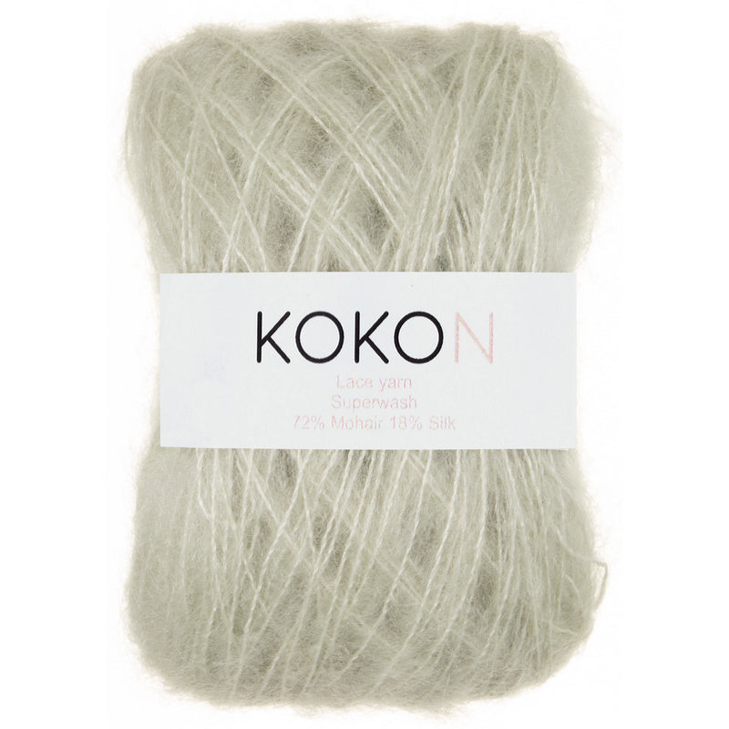 Kokon KIDSILK MOHAIR - Pistachio - Beautiful Knitters