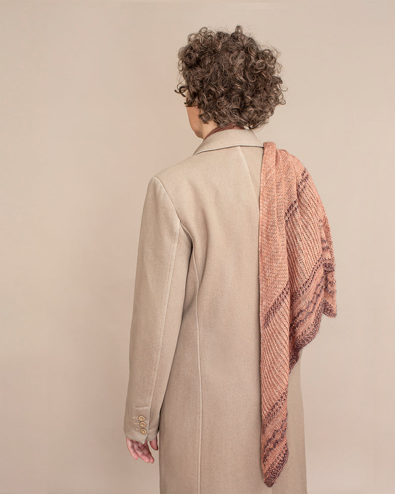 Kokon CRYSTALLINE SHAWL KIT - Copper - Beautiful Knitters