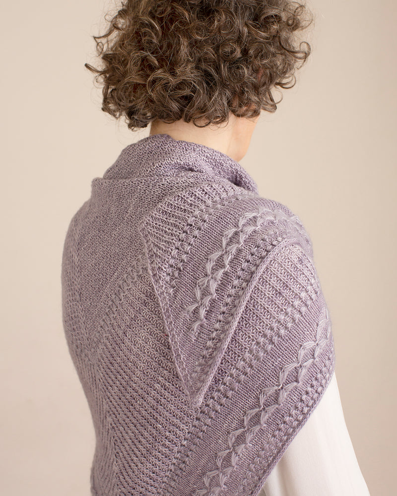 Kokon CRYSTALLINE SHAWL KIT - Mineral - Beautiful Knitters