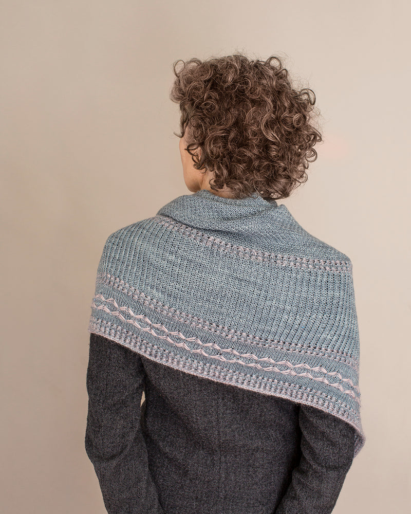 Kokon CRYSTALLINE SHAWL KIT - Oxidized - Beautiful Knitters