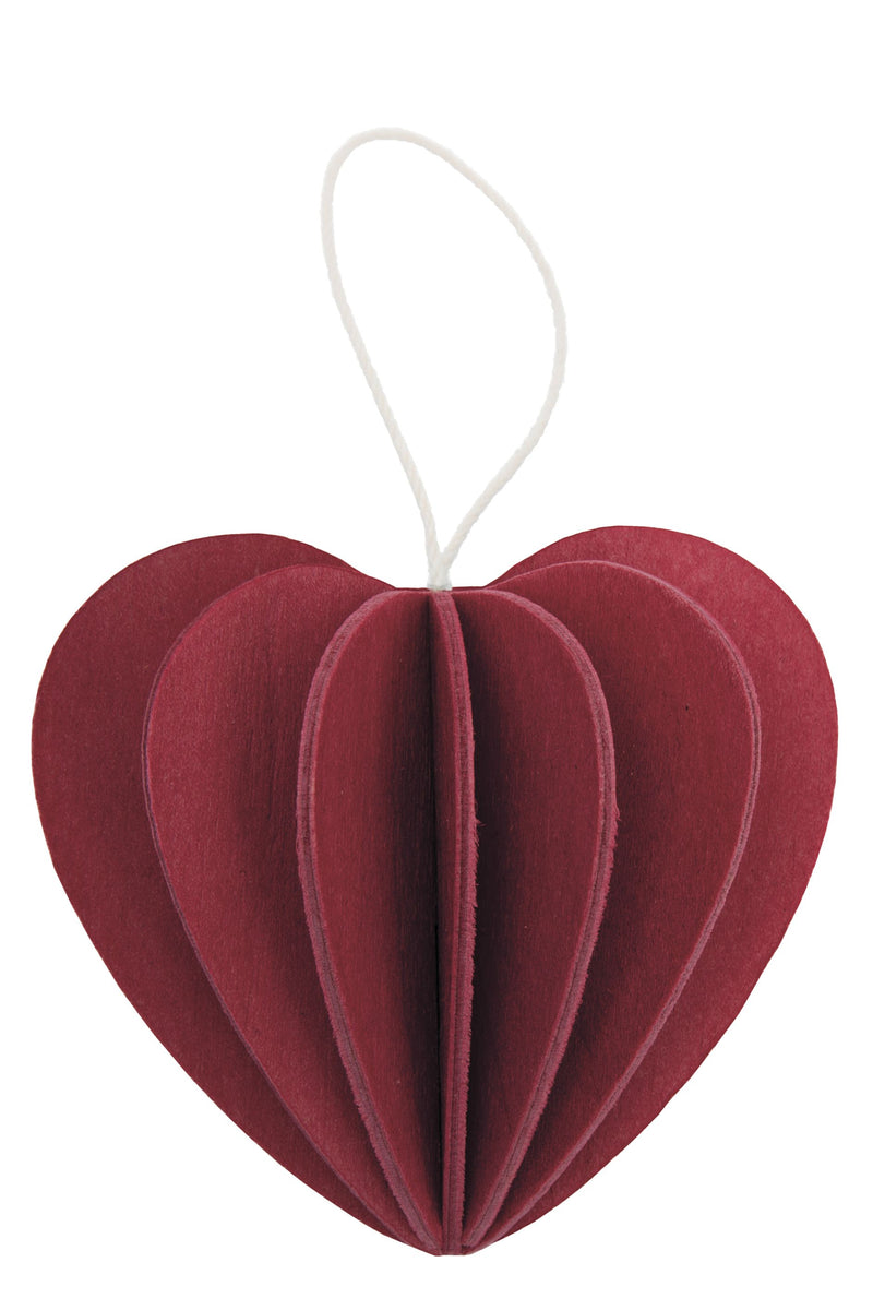 lovi HEART - Dark Red - Beautiful Knitters