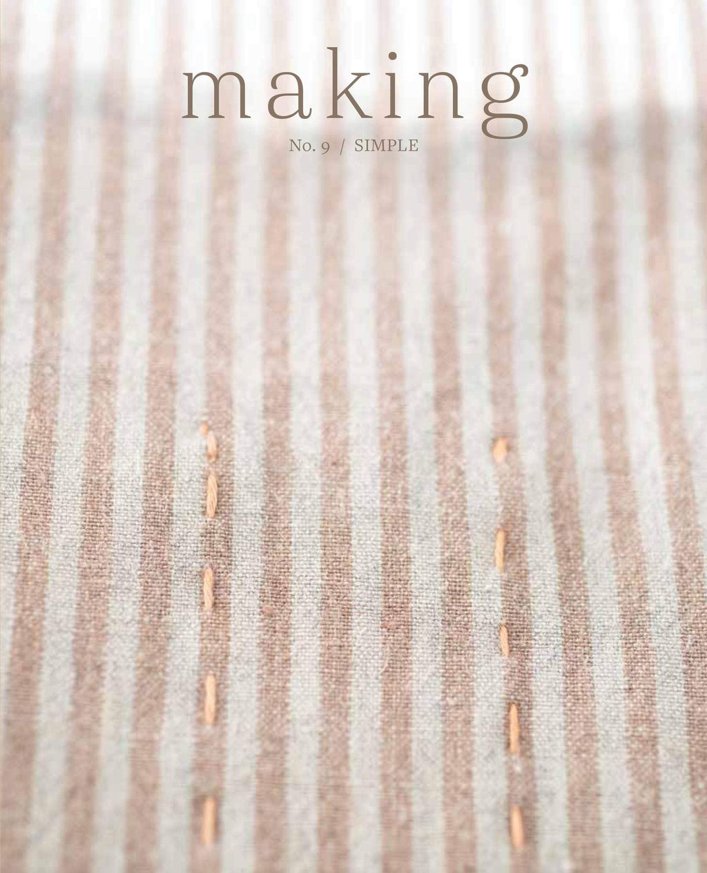 MAKING No. 9 - SIMPLE - [variant_title] - Beautiful Knitters