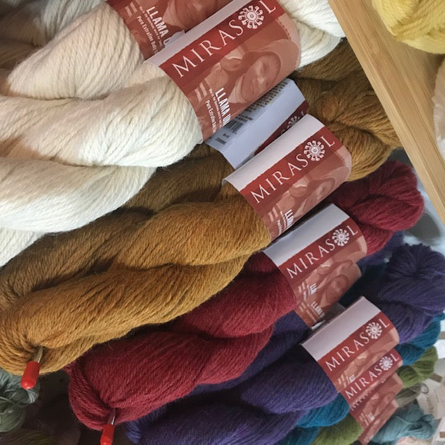 Mirasol LLAMA UNA-Yarn-Beautiful Knitters