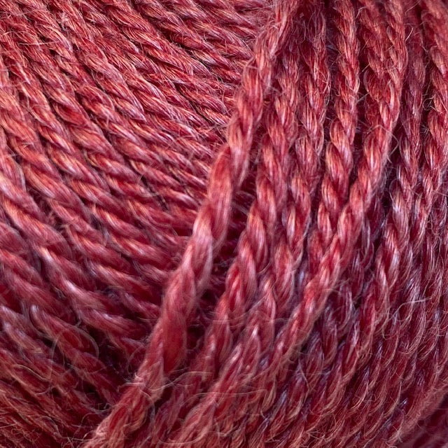 Onion No. 4 ORGANIC WOOL + NETTLES - 808 Red - Beautiful Knitters