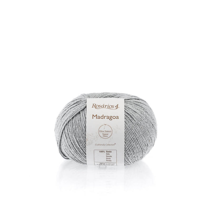 Rosarios4 MADRAGOA - 17 Light Grey - Beautiful Knitters