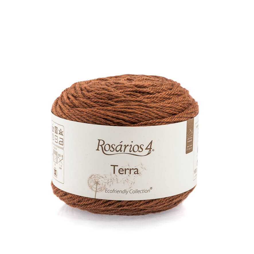 Rosarios4 TERRA - 01 Rust - Beautiful Knitters