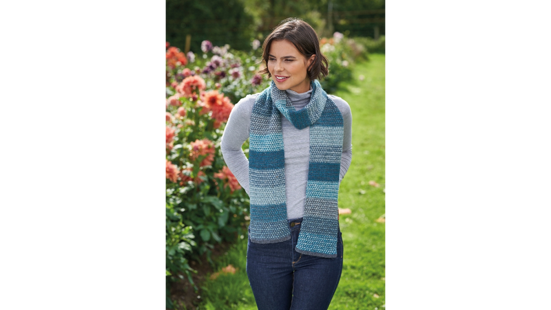 Rowan FELTED TWEED FADE PACK - Blue - Beautiful Knitters