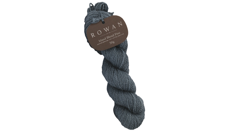 Rowan ISLAND BLEND FINE - 110 Tungsten - Beautiful Knitters