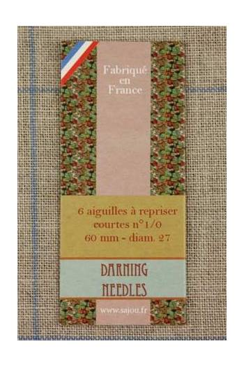 Sajou SHORT DARNING NEEDLES - [variant_title] - Beautiful Knitters