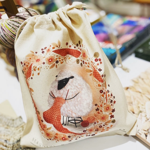 Beautiful Knitters SHEEP PROJECT BAG - [variant_title] - Beautiful Knitters