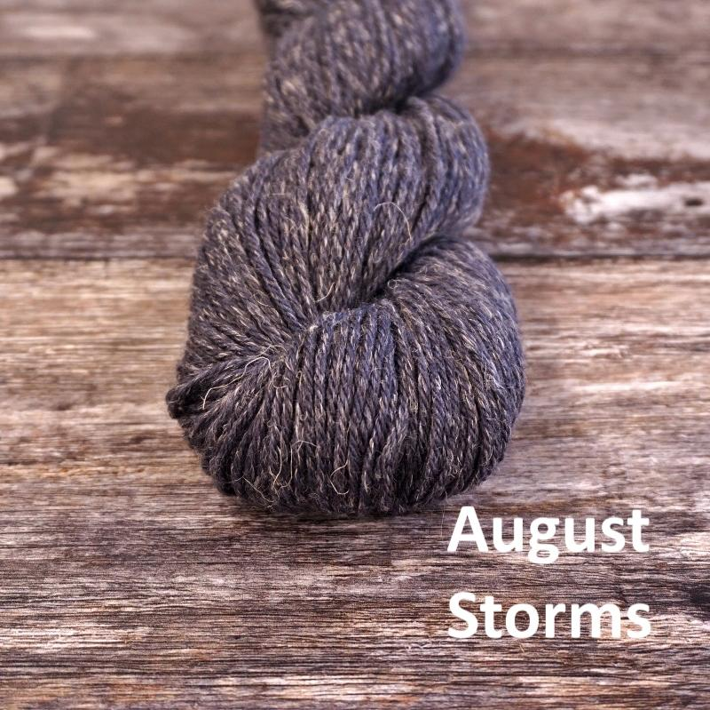 Stolen Stitches NUA SPORT - August Storms - Beautiful Knitters