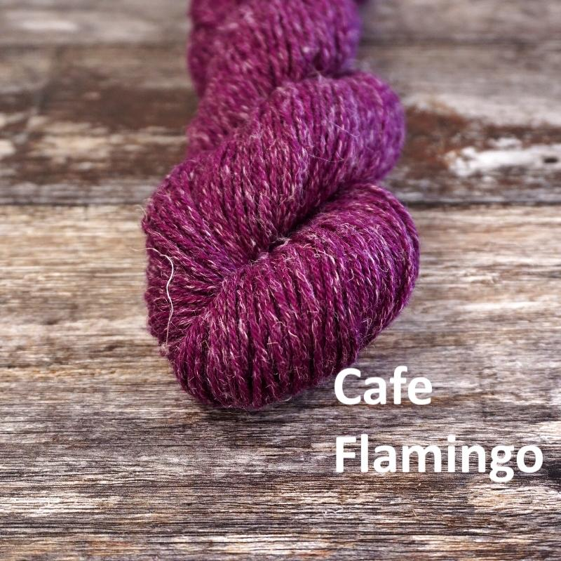 Stolen Stitches NUA SPORT - Cafe Flamingo - Beautiful Knitters