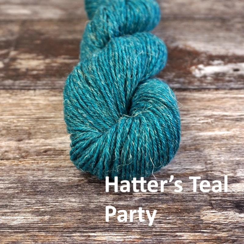 Stolen Stitches NUA SPORT - Hatter's Teal Party - Beautiful Knitters