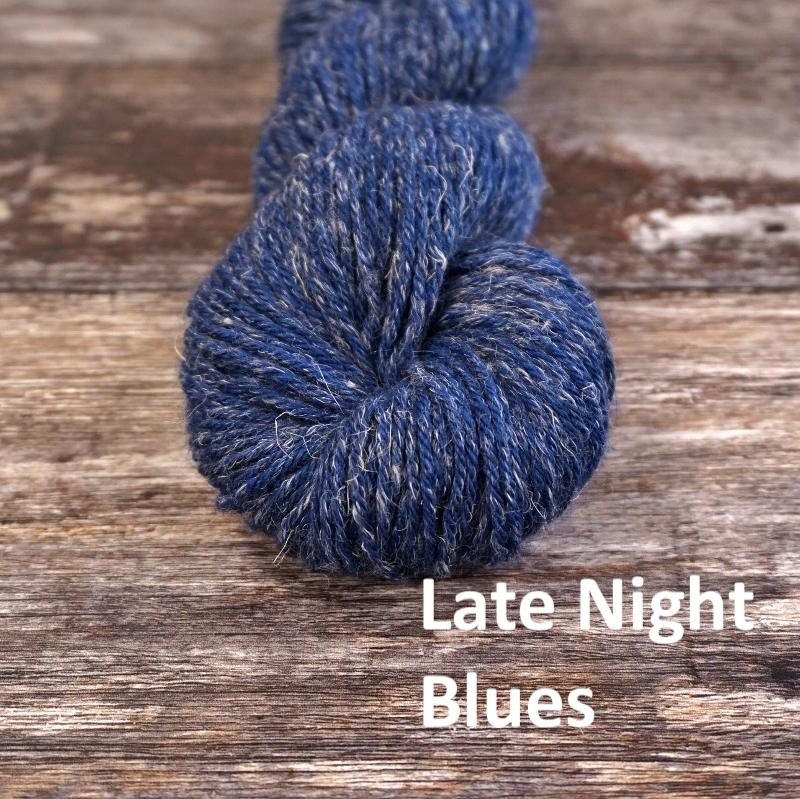 Stolen Stitches NUA SPORT - Late Night Blues - Beautiful Knitters