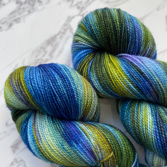 TedKnitsUK HIGH TWIST - Blue Grass - Beautiful Knitters