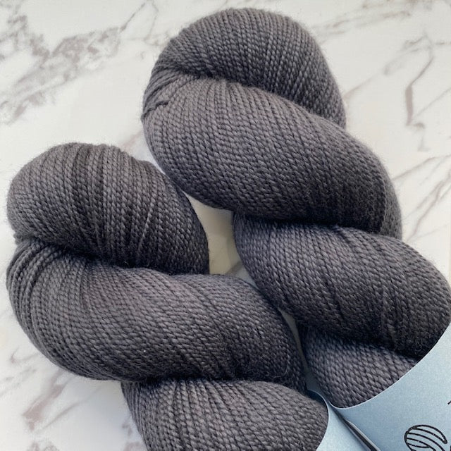 TedKnitsUK HIGH TWIST - Charcoal - Beautiful Knitters