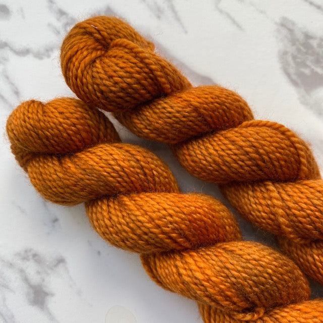 TedKnitsUK HIGH TWIST MINI - Umber - Beautiful Knitters
