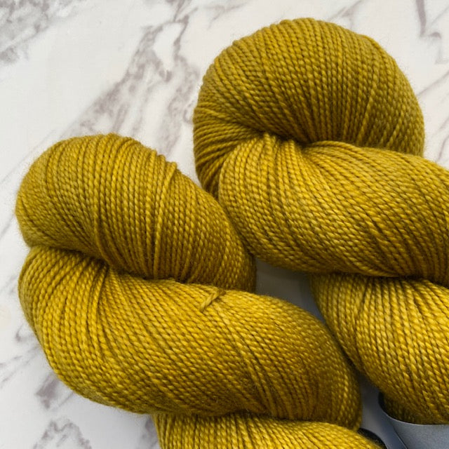 TedKnitsUK HIGH TWIST - Old Gold - Beautiful Knitters