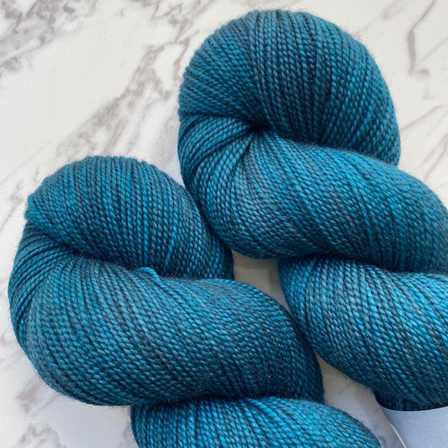 TedKnitsUK HIGH TWIST - Petrol - Beautiful Knitters