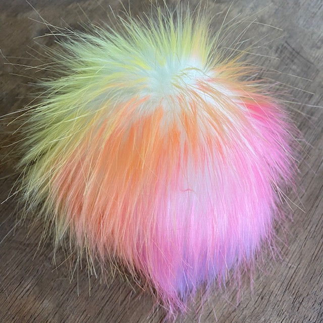 The Crafty Bird POM POM - Regular / Pastel Rainbow / String - Beautiful Knitters