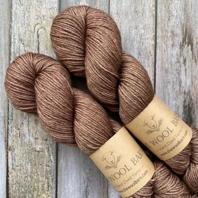 The Wool Barn YAK DK - Brown Rose - Beautiful Knitters