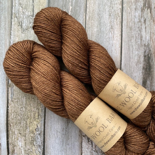 The Wool Barn YAK DK - Toffee - Beautiful Knitters