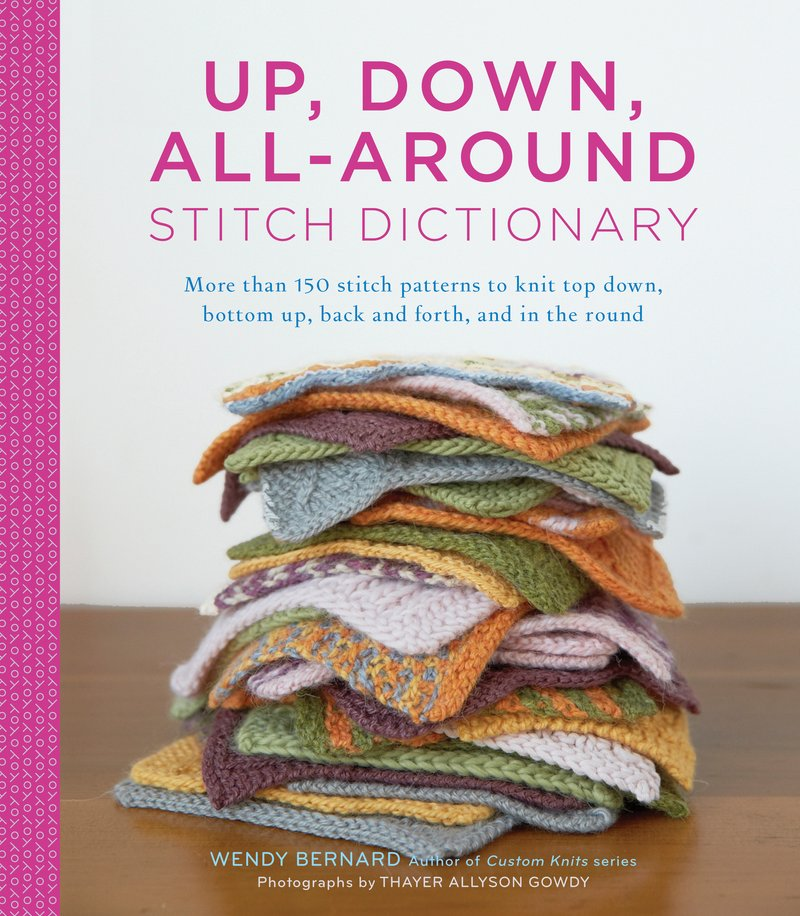 UP, DOWN, ALL-AROUND STITCH DICTIONARY - [variant_title] - Beautiful Knitters